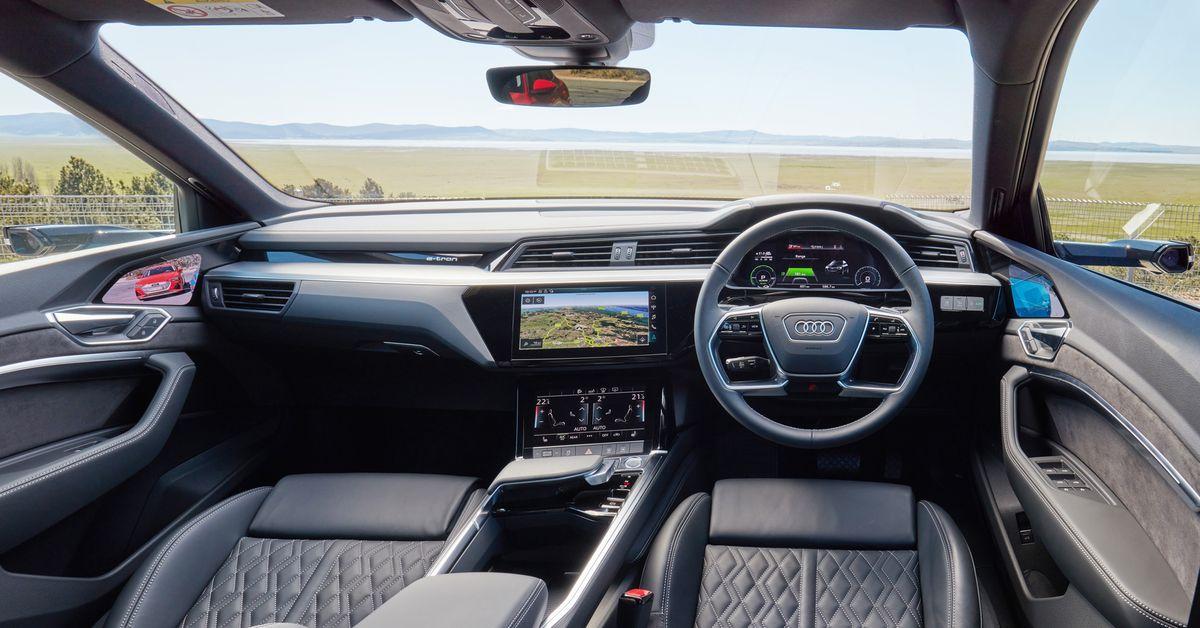 Inside Audi's new electric car, the e-tron